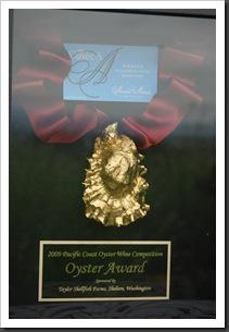 oyster award