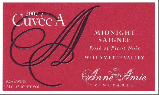 2007 Rose front label
